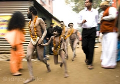 photos of naga sadhu